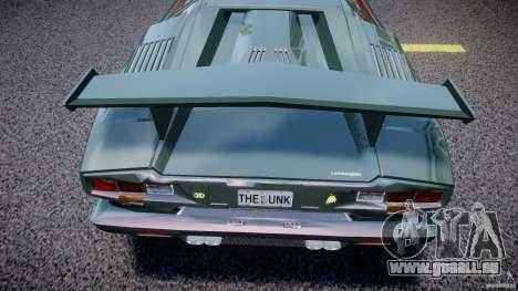 Lamborghini Countach v1.1 pour GTA 4 est un côté
