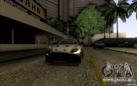 Aston Martin Zagato V12 V1.0 pour GTA San Andreas vue de droite