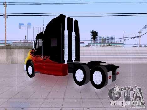 Peterbilt 387 pour GTA San Andreas vue de droite