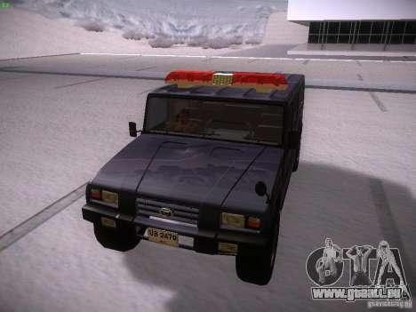 Toyota Mega Cruiser für GTA San Andreas