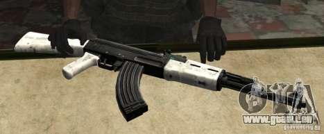 Schneebericht AK47 (Schnee Ak47) für GTA San Andreas