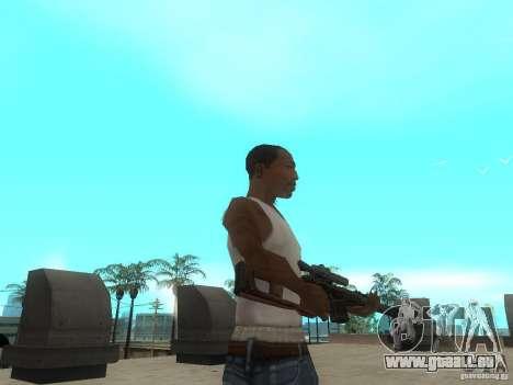 Fusil VSS Vintorez pour GTA San Andreas quatrième écran