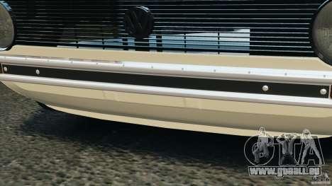 Volkswagen Golf Mk1 Stance für GTA 4 Innen