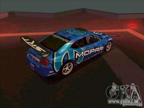 Mopar Dodge Charger für GTA San Andreas rechten Ansicht