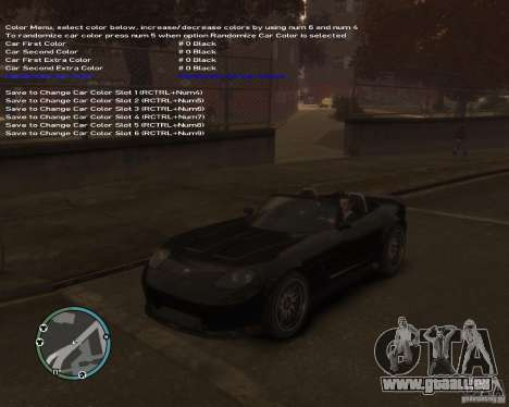 Simple Native Trainer v6.4 für GTA 4 siebten Screenshot