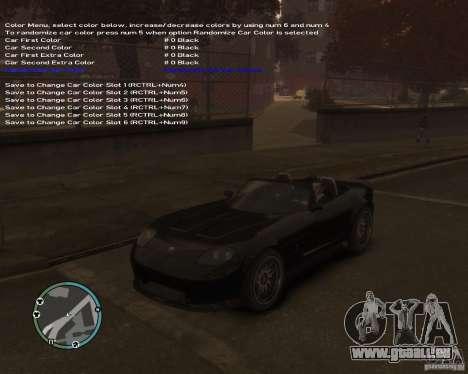 Simple Native Trainer v6.4 für GTA 4 siebten Screenshot