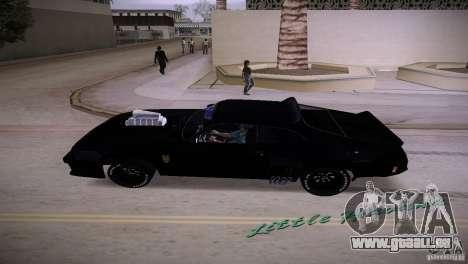 Ford Falcon GT Pursuit Special V8 Interceptor 79 für GTA Vice City zurück linke Ansicht