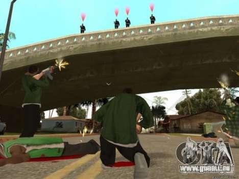 Double V 4.0 pour GTA San Andreas deuxième écran