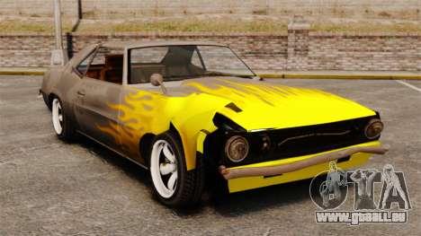 Neu Färbung für rostige Vigero und Sabre für GTA 4 weiter Screenshot