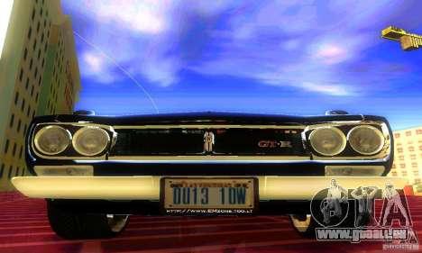 Nissan Skyline 2000-GTR pour GTA San Andreas vue de droite