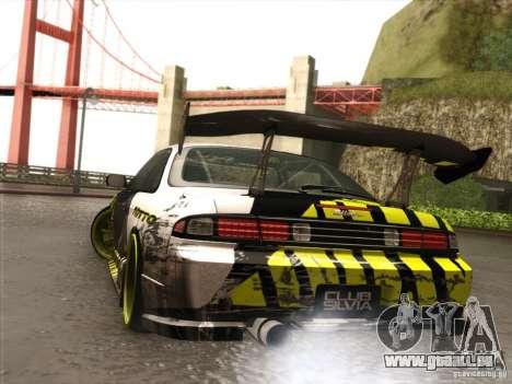 Nissan 200SX S14A für GTA San Andreas Rückansicht
