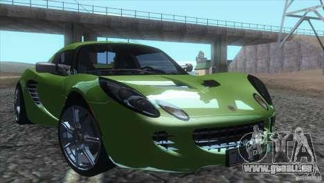 Lotus Elise für GTA San Andreas Innenansicht