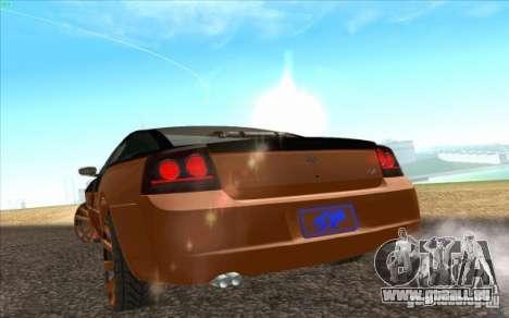 Dodge Charger SRT 8 für GTA San Andreas Rückansicht