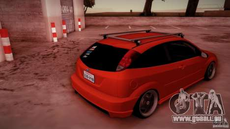 Ford Focus SVT Clean pour GTA San Andreas vue de dessous