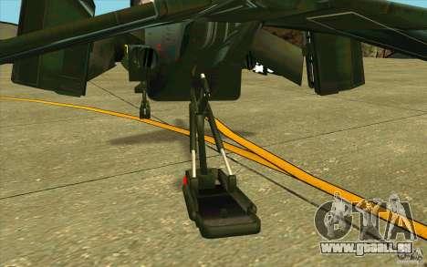 Aliens vs. Predator Marine Drobship pour GTA San Andreas vue de côté