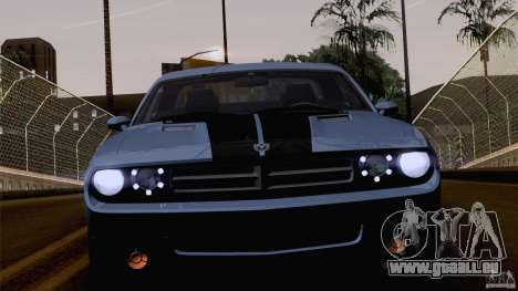 Dodge Challenger SRT8 für GTA San Andreas Räder