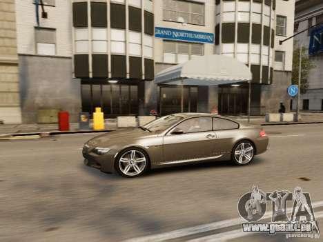 BMW M6 2010 für GTA 4 obere Ansicht
