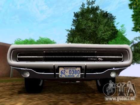 Dodge Charger RT für GTA San Andreas rechten Ansicht