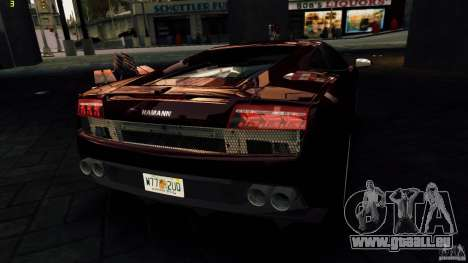 Lamborghini Gallardo Hamann für GTA 4-Motor