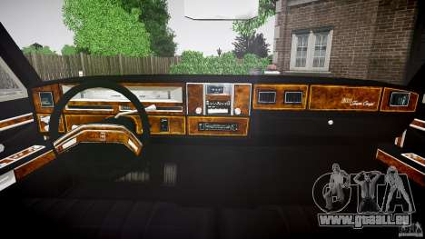 Lincoln Continental Town Coupe v1.0 1979 für GTA 4 Rückansicht