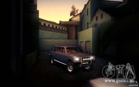 GAZ 2402 4 x 4 PickUp für GTA San Andreas Seitenansicht