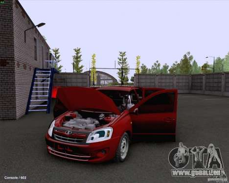 VAZ 2190 Drain pour GTA San Andreas vue intérieure