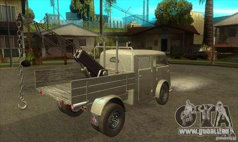 Tempo Matador 1952 Towtruck version 1.0 für GTA San Andreas rechten Ansicht