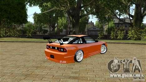 Nissan Sil1480 Drift Spec für GTA 4 hinten links Ansicht