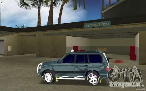 Toyota Land Cruiser 100 für GTA Vice City linke Ansicht
