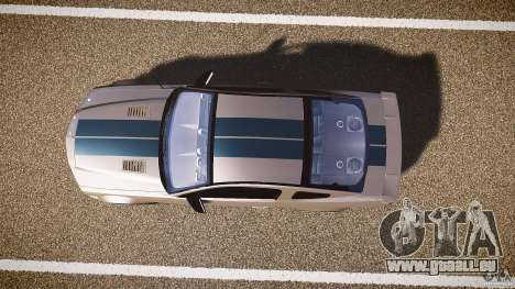 Shelby GT500kr pour GTA 4 Vue arrière