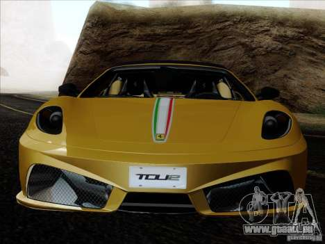 Ferrari F430 Scuderia Spider 16M für GTA San Andreas Räder