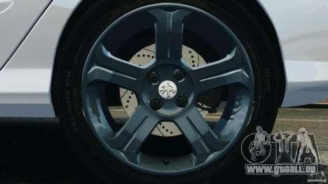 Peugeot 308 GTi 2011 Police v1.1 für GTA 4 Innen