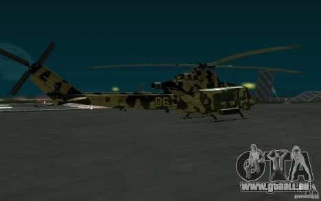UH-1Y Venom für GTA San Andreas linke Ansicht