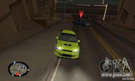 Courses de rue pour GTA San Andreas onzième écran
