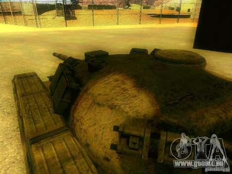 Tank Spiel S. T. A. L. k. e. R für GTA San Andreas Innenansicht
