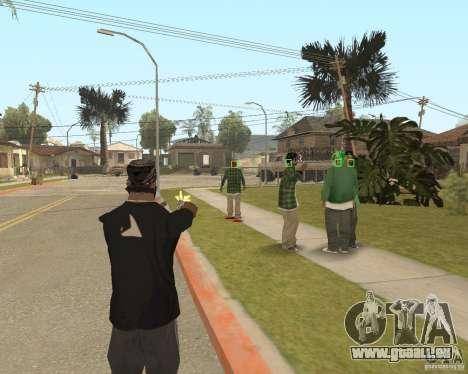 Mark and Execute pour GTA San Andreas deuxième écran