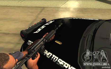 Ford Taurus 2011 LAPD Police für GTA San Andreas Motor