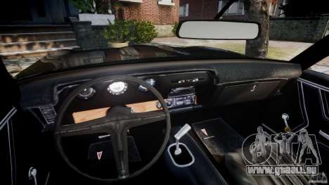 Pontiac GTO Judge pour GTA 4 Vue arrière