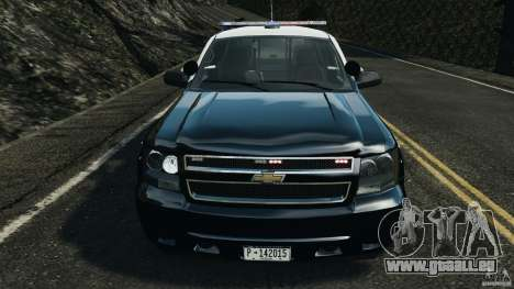Chevrolet Tahoe Marked Unit [ELS] für GTA 4 Innenansicht