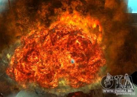 Neue Auswirkungen von Explosionen für GTA San Andreas achten Screenshot