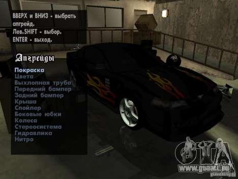 Ford Mustang Cobra R Tuneable für GTA San Andreas Seitenansicht