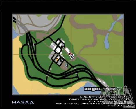 Arbres de Noël Razvozčik pour GTA San Andreas deuxième écran