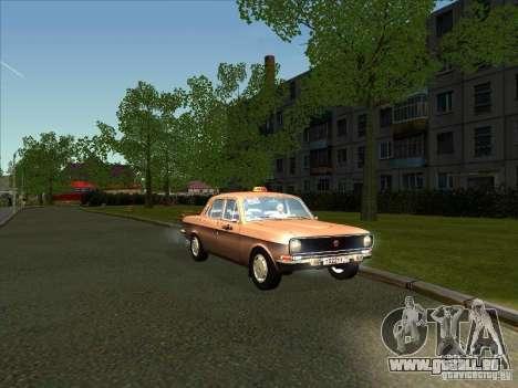 24-10 GAZ Volga Taxi für GTA San Andreas