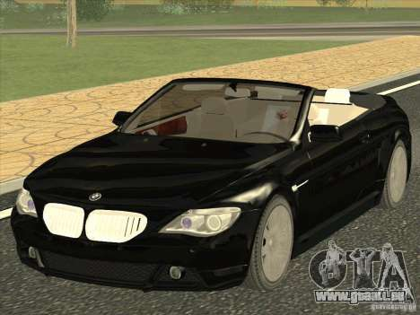 BMW 650I für GTA San Andreas
