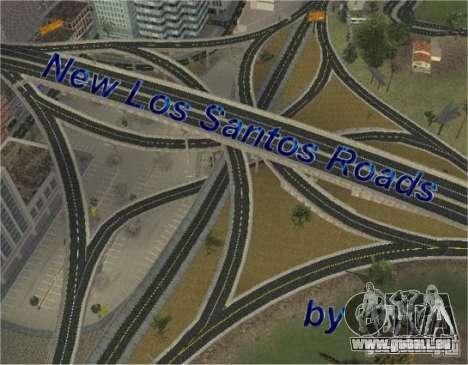 Construction de nouvelles routes de Los Santos pour GTA San Andreas