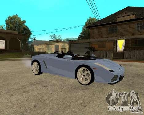 Lamborghini Concept-S für GTA San Andreas rechten Ansicht