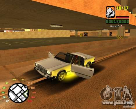 Extreme Car Mod SA:MP version pour GTA San Andreas