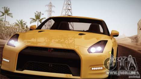 Nissan GTR Black Edition für GTA San Andreas