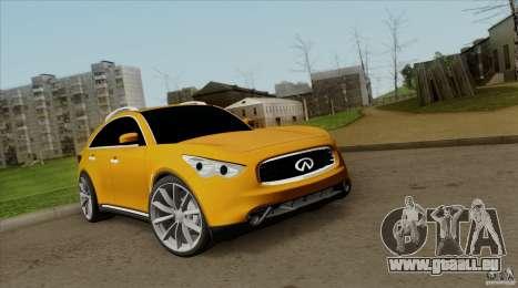 Infiniti FX37 v1 für GTA San Andreas