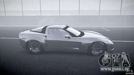Chevrolet Corvette Z06 1.1 pour GTA 4 est une vue de l'intérieur